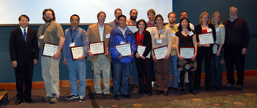 2009 CHANS fellows with certificates