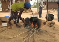 A cookstove in Ghana. Photo courtesy of Global Alliance for Clean Cookstoves