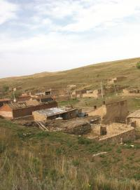 Institutional and policy shifts on the Mongolian Plateau have led to major changes in human practices and the natural world. Traditional nomadism and other pastoral lifestyles have been replaced by urban habitation, which has led to the abandonment of rural villages such as the one shown here.  Credit: Jiquan Chen